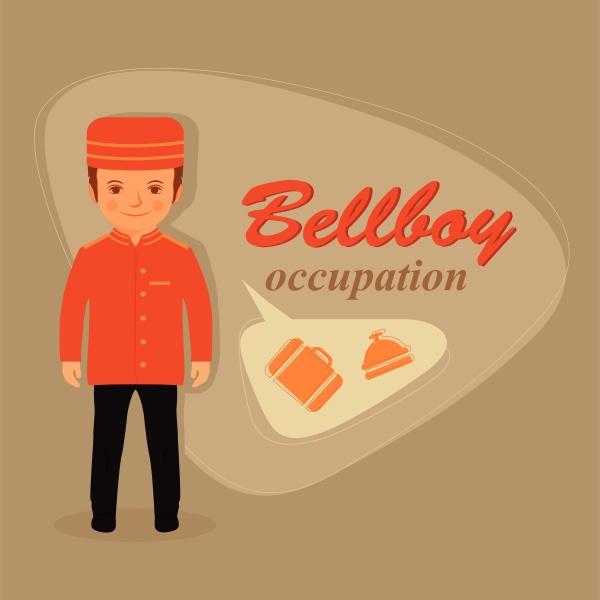 bellboy kid hotel service