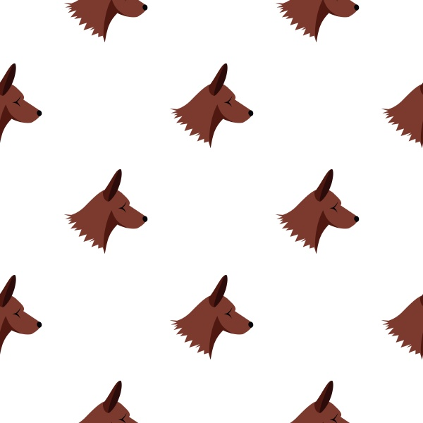 collie dog pattern seamless