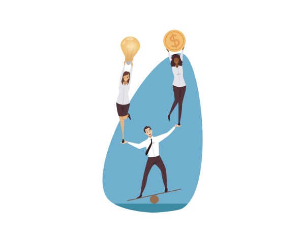 support management leadership teamwork business concept