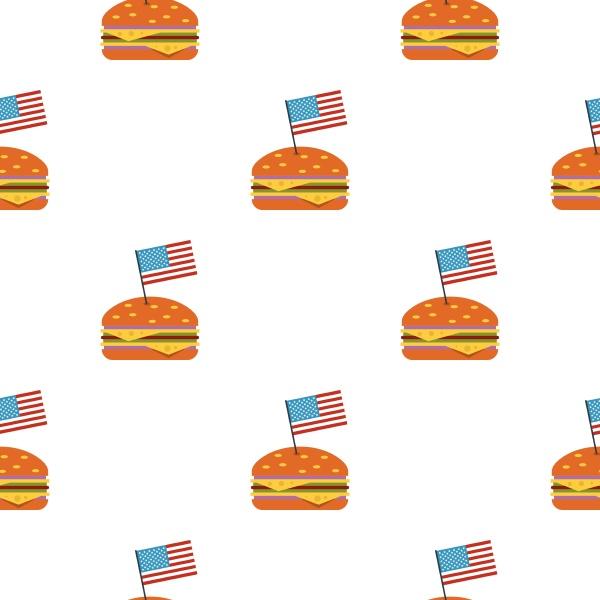 hamburger pattern seamless