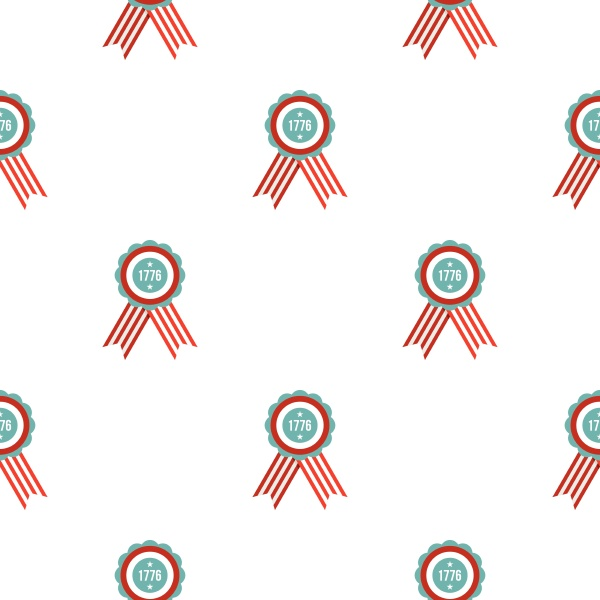 american emblem pattern seamless