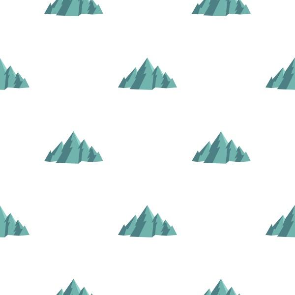 mountain pattern seamless