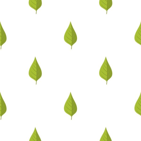 apple tree green leaf pattern seamless