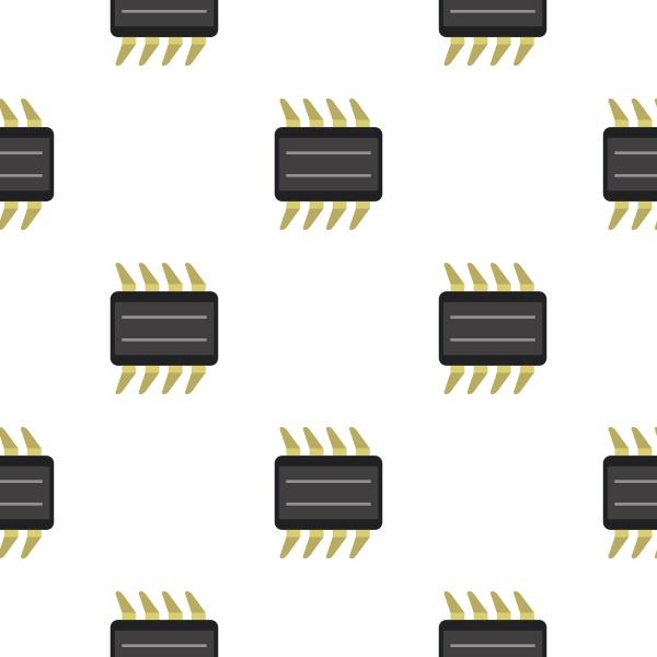 cpu pattern flat