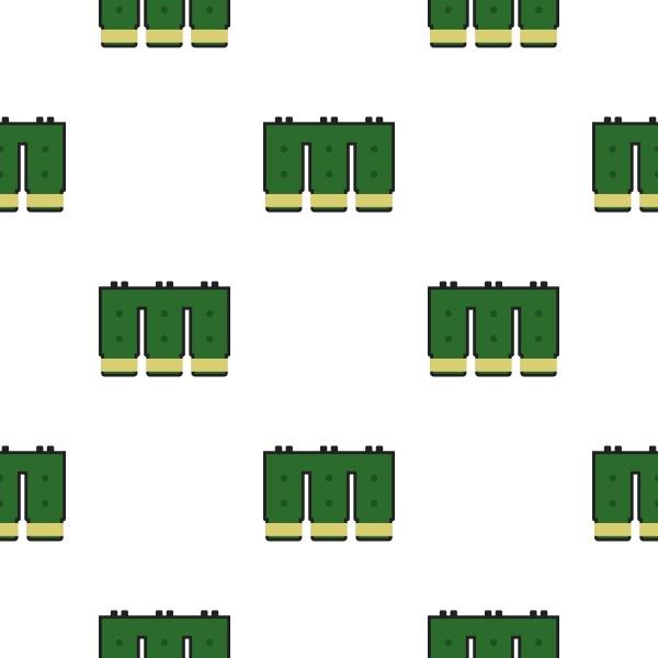 electronic circuit board pattern flat