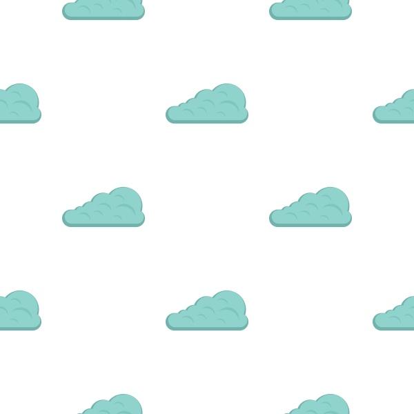 cumulus cloud pattern flat