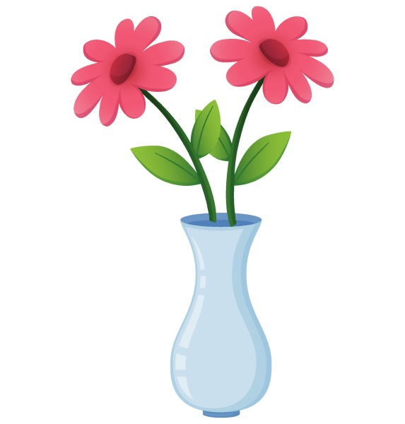 red flowers in white vase