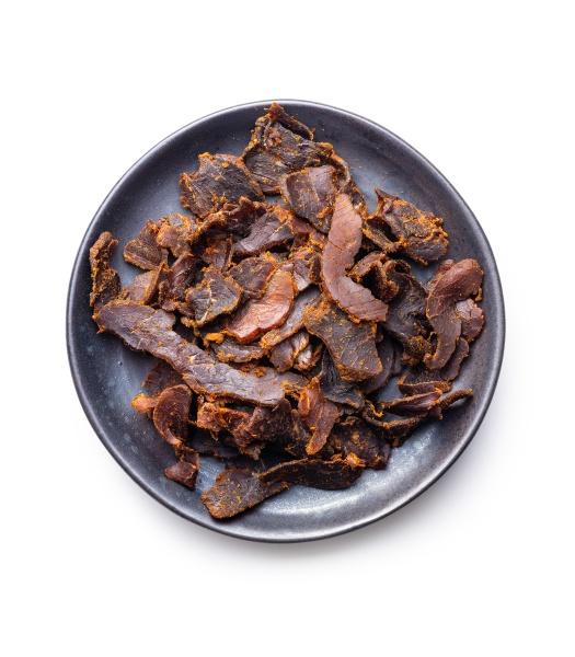 sliced beef jerky dried beef