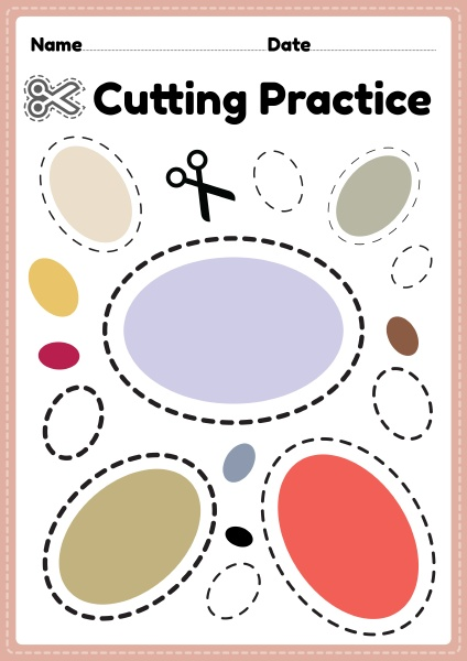 printable cutting activities for toddlers and