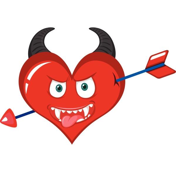 an evil heart character