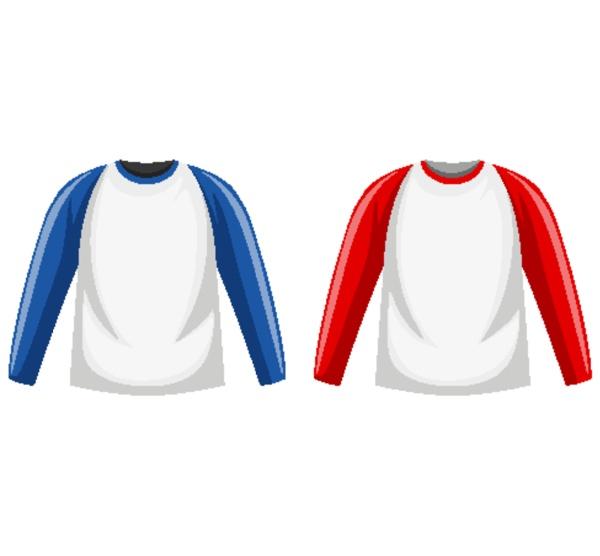 raglan long sleeve t shirt