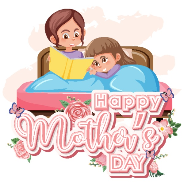 template design for happy mother s