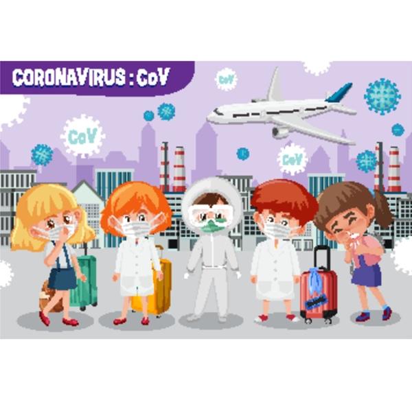 coronavirus spreding in the big city