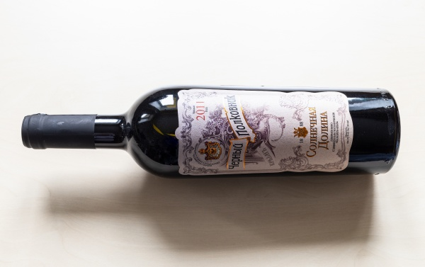 crimean, sweet, fortified, wine, black, colonel - 30527702