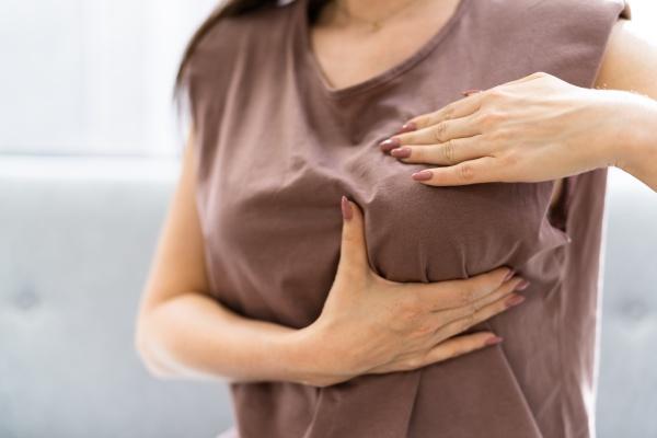 pregnant breast ache and chest