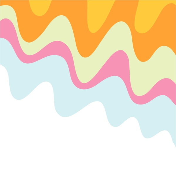 wavy lines in different colors in