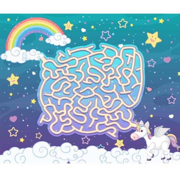 board game for kids in unicorn