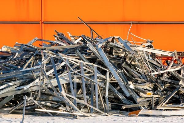 outdoors cluttered construction debris pile
