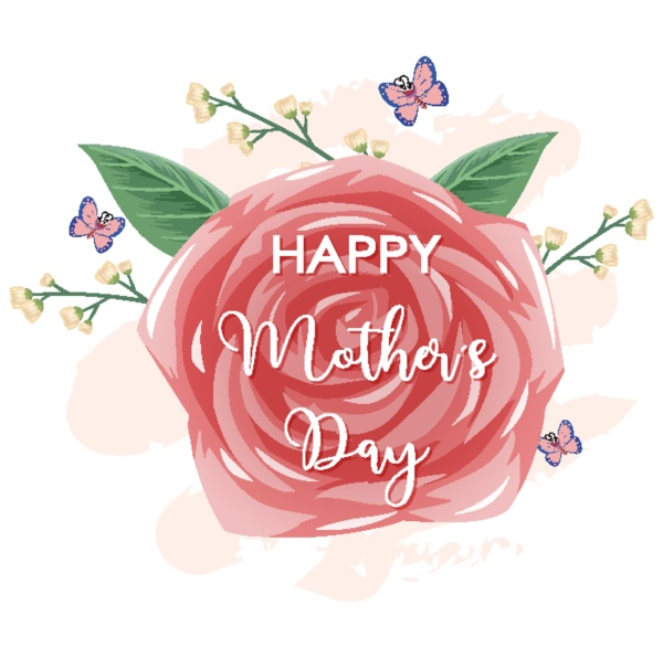 template design for happy mothers day