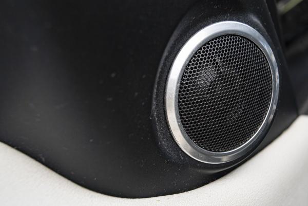 car speaker detail