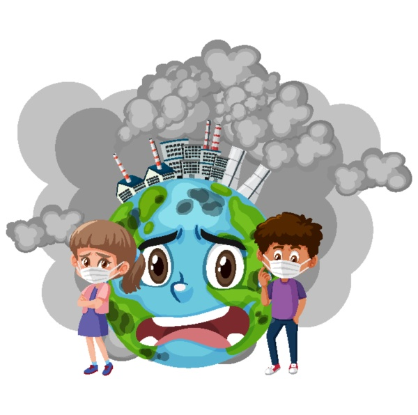 poster design for stop pollution with