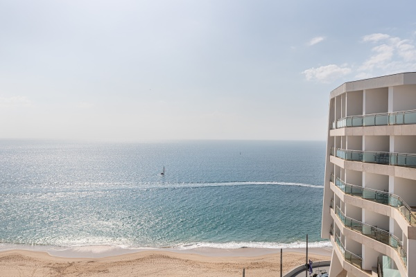 view of the luxury hotel sesimbra