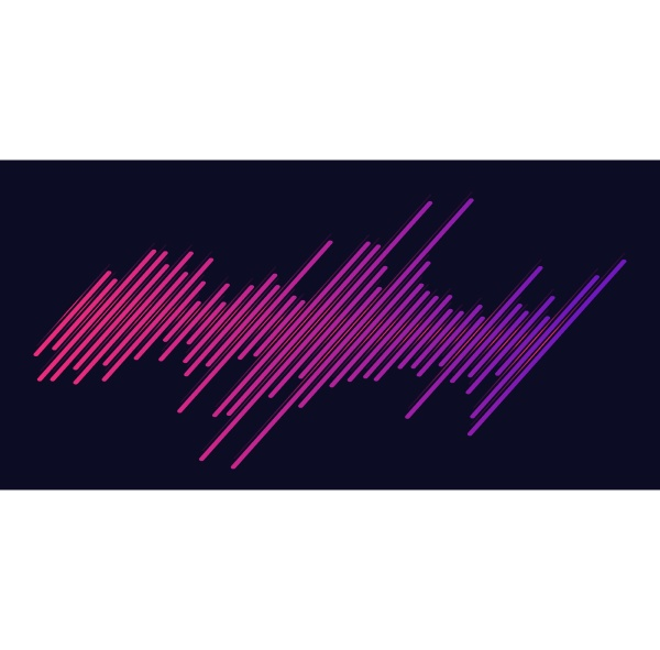 abstract background with gradient lines design