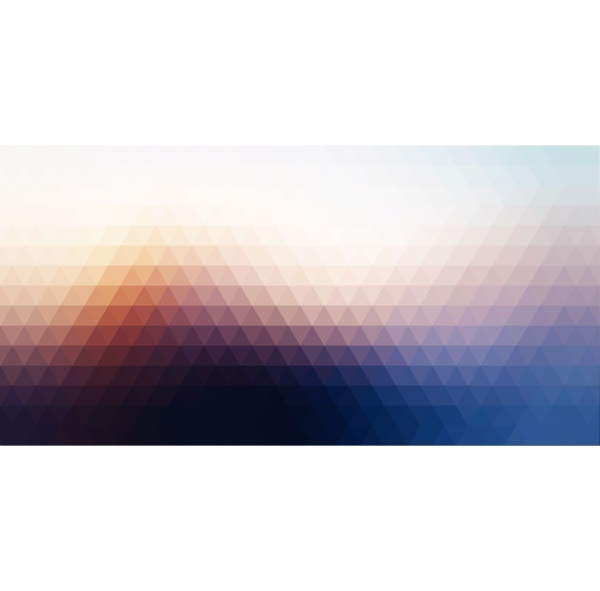 abstract banner background with low poly