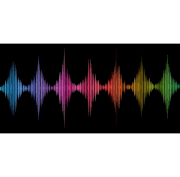 abstract soundwaves background 2708