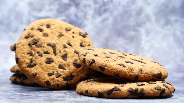 soft freshly baked chocolate chip cookies
