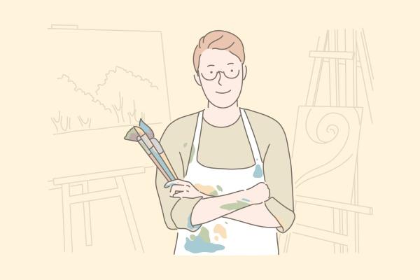 painting hobby art studio