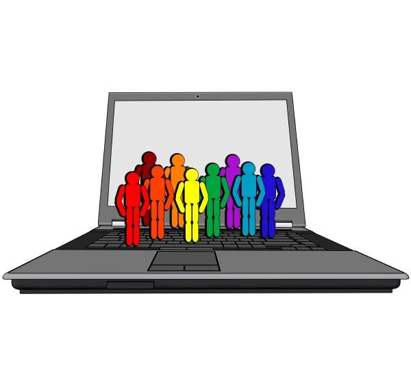 community vector illustration