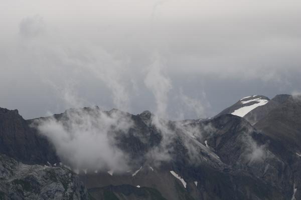 distant view of mount wildhorn switzerland