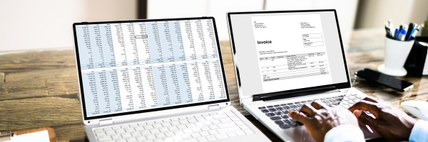 tax account invoice spreadsheet report