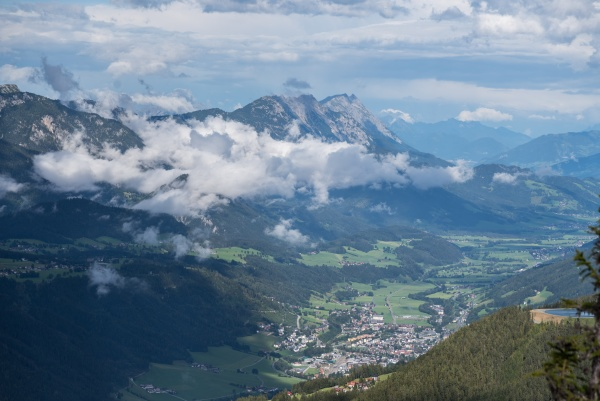 mountaineering and hiking in austria