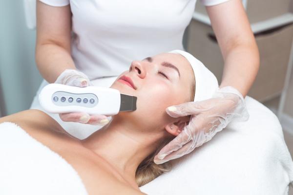 a holistic skin care treatment with