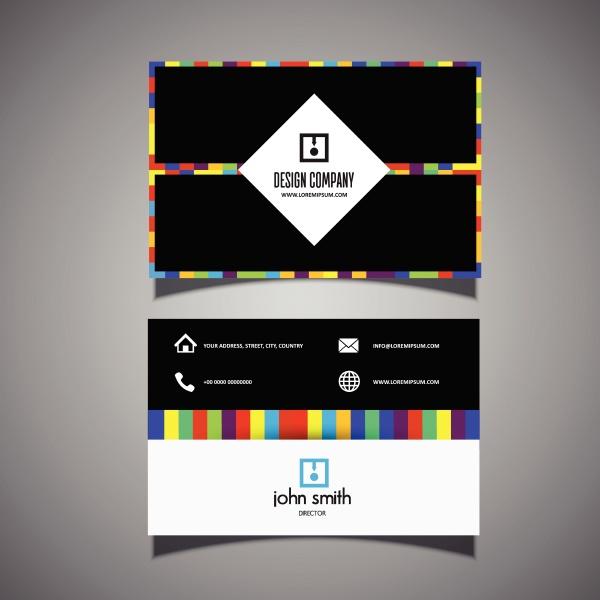 modern business card design 2702