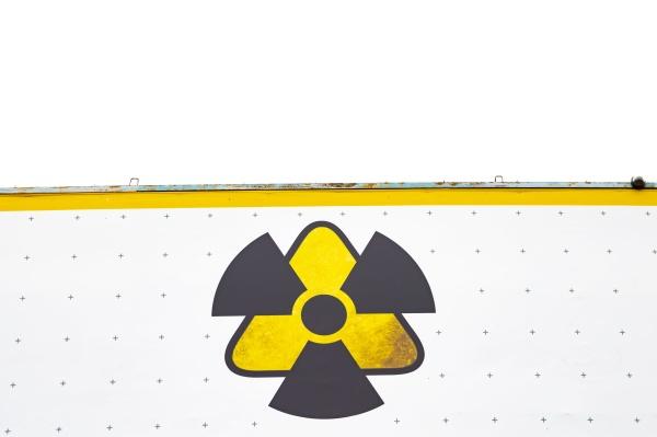 warning sign radiation