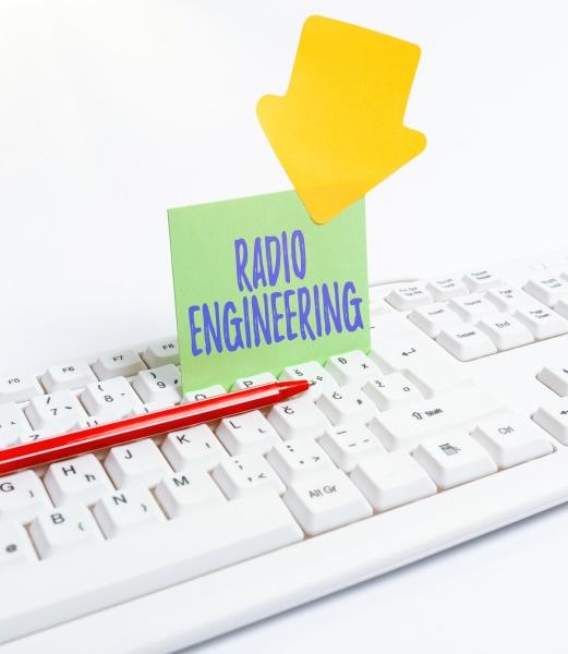 text caption presenting radio engineering conceptual