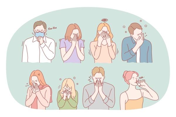 cold flu feeling ill