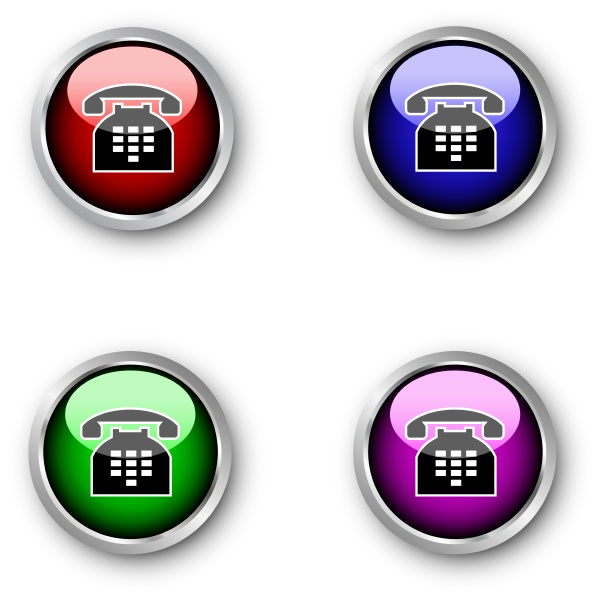 telephone icons