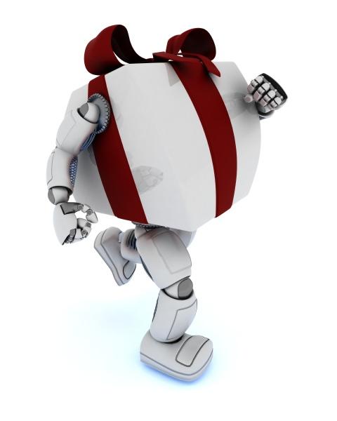christmas gift character