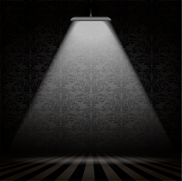 interior with spotlight