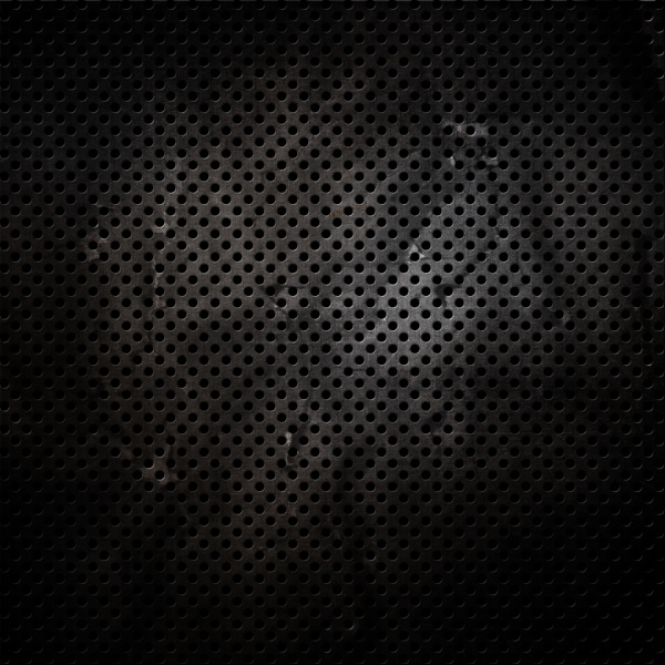 scratched grunge perforated metal background