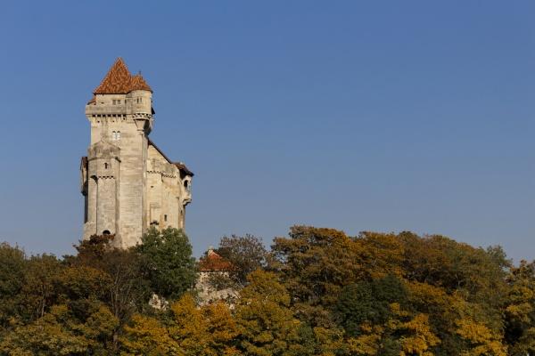 medieval castle lichtenstein in maria enzersdorf