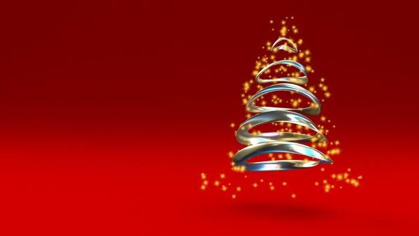 3d render christmas background