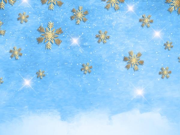 christmas, snowflakes, on, a, watercolour, texture - 30658437