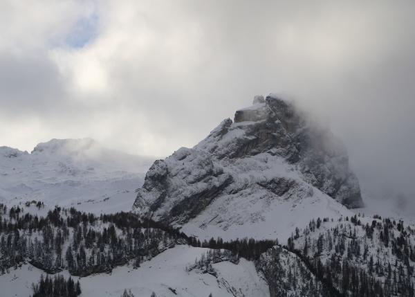 mittaghore mountain peak in the