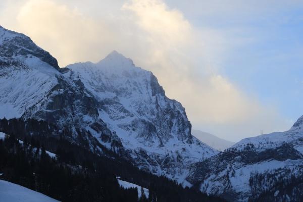 arpelistock mountain seen from gsteig