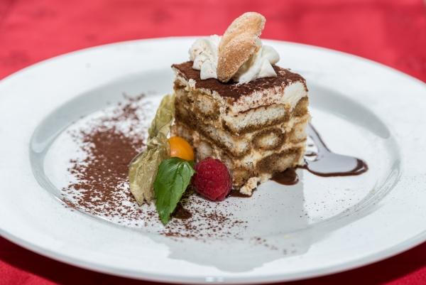 creamy tiramisu dessert